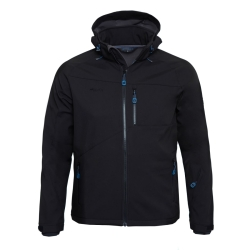 PINEA Herren Softshell Jacke SULO Farbe BLACK Größe M