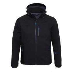 PINEA Herren Softshell Jacke SULO Farbe BLACK Größe 3XL