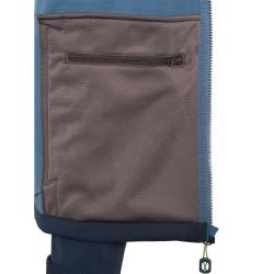 PINEA Herren Softshell Jacke SULO Farbe MOONLITE BLAU Größe 3XL