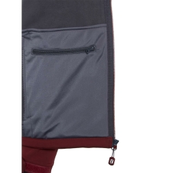 PINEA Herren Softshell Jacke SULO Farbe CABARNET RED