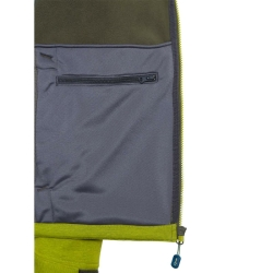 PINEA Herren Softshell Jacke SULO Farbe GOLDEN LIME Größe S