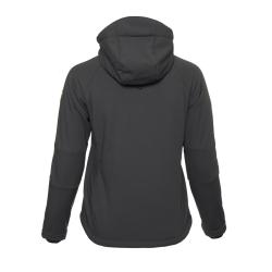 PINEA Damen Winter Softshell Jacke AILA Farbe DUNKELGRAU Größe 36
