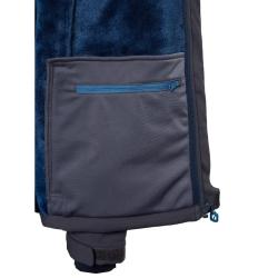PINEA Herren Winter Softshell Jacke JIRI Farbe FORGED IRON Größe S