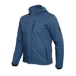PINEA Herren Winter Softshell Jacke JIRI Farbe STELLAR BLUE Größe S