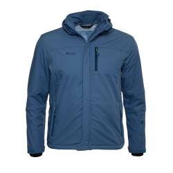 PINEA Herren Winter Softshell Jacke JIRI Farbe STELLAR BLUE Größe XL