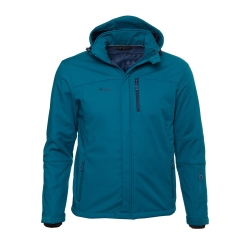PINEA Herren Winter Softshell Jacke JIRI Farbe DEEP...