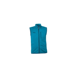 PINEA Damen & Herren Fleece Weste VEETI Farbe TÜRKIS in...