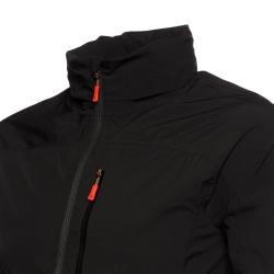 PINEA Herren mehrlagige Windjacke KARI Farbe SCHWARZ Größe XL