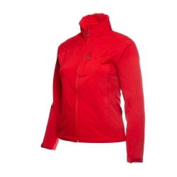 PINEA Damen mehrlagige Regenjacke ANJA Farbe HAUTE ROT
