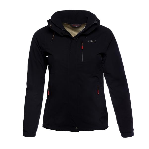 PINEA Damen Outdoor Jacke ALISA Farbe SCHWARZ Größe 38