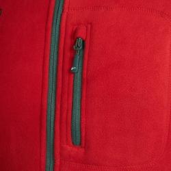 PINEA Herren warme Fleece Jacke JOUNI Farbe HAUTE ROT Größe L
