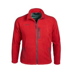 PINEA Herren warme Fleece Jacke JOUNI in Farbe HAUTE ROT...