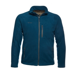PINEA Herren warme Fleece Jacke JOUNI in Farbe POSEIDON...