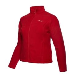 PINEA Damen warme Fleece Jacke MIIA Farbe HAUTE ROT...