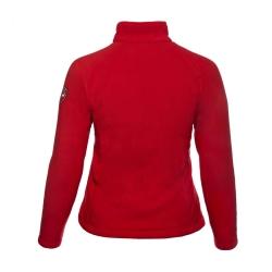 PINEA Damen warme Fleece Jacke MIIA Farbe HAUTE ROT Größe 46