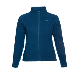 PINEA Damen warme Fleece Jacke MIIA POSEIDON BLAU