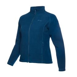 PINEA Damen warme Fleece Jacke MIIA Farbe POSEIDON BLAU
