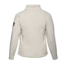 PINEA Damen warme Fleece Jacke MIIA Farbe ECRU