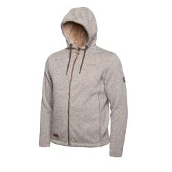 PINEA Herren Strickfleece Hoodie OTTO Farbe BEIGE Größe XL