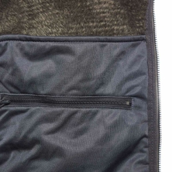 PINEA Herren Strickfleece Hoodie OTTO Farbe DUNKELGRAU Größe XL