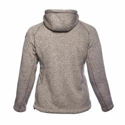 PINEA Damen Fleece Hoodie MOONA Farbe BEIGE Größe 44