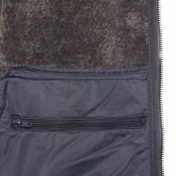 PINEA Damen Fleece Hoodie MOONA Farbe DUNKELGRAU