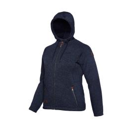 PINEA Damen Fleece Hoodie MOONA Farbe NAVY BLAU Größe 38