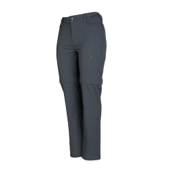 PINEA Damen Zip-Off Stretchhose ELSI Farbe EBONY GRAU