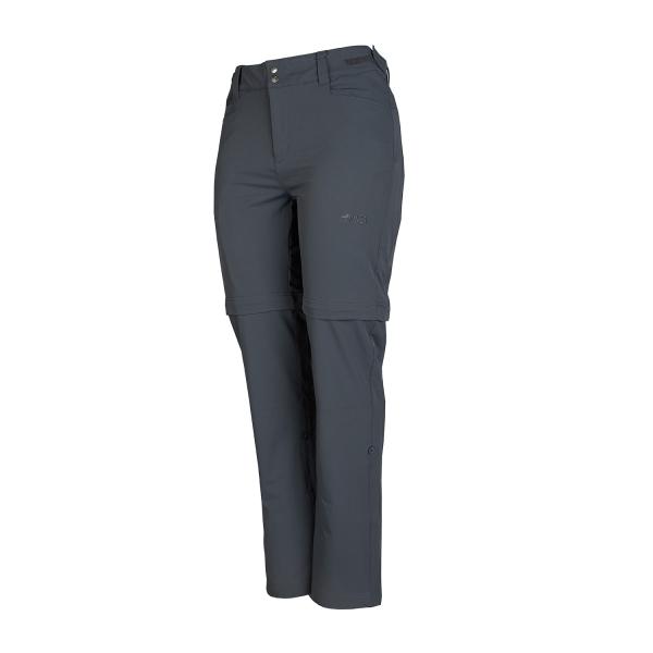 PINEA Damen Zip-Off Stretchhose ELSI Farbe EBONY GRAU Größe 40