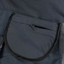 PINEA Damen Zip-Off Stretchhose ELSI Farbe EBONY GRAU Größe 46