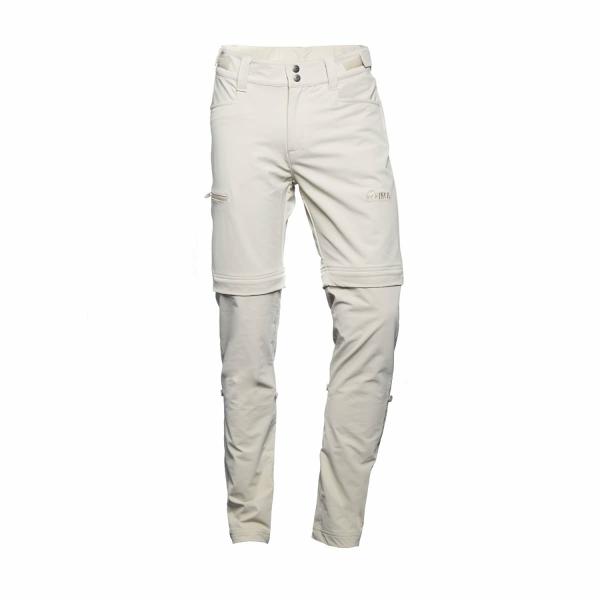 PINEA Damen Zip-Off Stretchhose ELSI Farbe SCHLAMM Größe 42