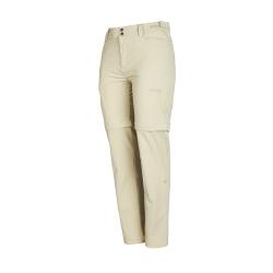 PINEA Damen Zip-Off Stretchhose ELSI Farbe SCHLAMM Größe 44