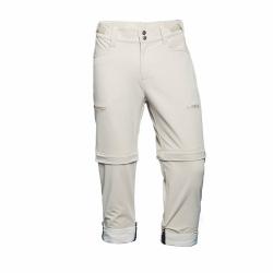 PINEA Damen Zip-Off Stretchhose ELSI Farbe SCHLAMM Größe 46