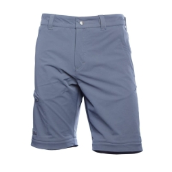 PINEA Herren Zip-Off Stretchhose ESKO Farbe EBONY GRAU Größe M