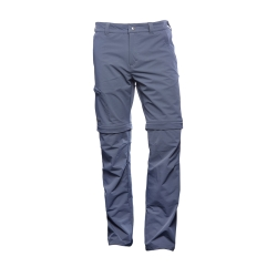 PINEA Herren Zip-Off Stretchhose ESKO Farbe EBONY GRAU in...
