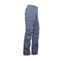 PINEA Herren Zip-Off Stretchhose ESKO Farbe EBONY GRAU Größe XL