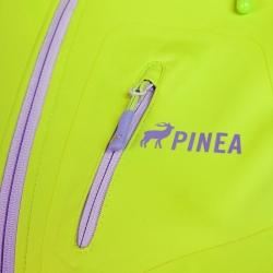 PINEA Damen Sommer Softshell Jacke AINO Farbe LIME Größe 42
