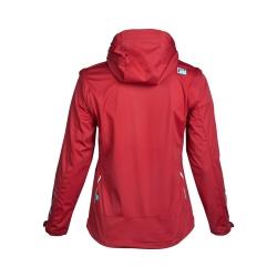 PINEA Damen Sommer Softshell Jacke AINO Farbe CHILI ROT