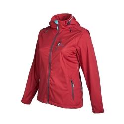 PINEA Damen Sommer Softshell Jacke AINO Farbe CHILI ROT Größe 40