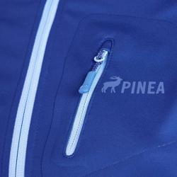 PINEA Damen Sommer Softshell Jacke AINO Farbe NAVY BLAU