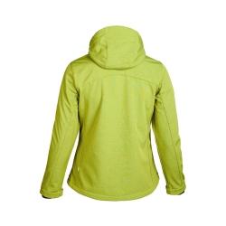 PINEA Damen Softshell Jacke LUMI Farbe GOLDEN LIME