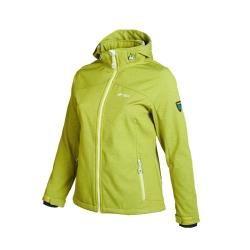 PINEA Damen Softshell Jacke LUMI Farbe GOLDEN LIME Größe 46