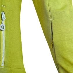 PINEA Damen Softshell Jacke LUMI Farbe GOLDEN LIME Größe 48