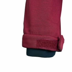 PINEA Damen Softshell Jacke LUMI Farbe CABARNET ROT Größe 40