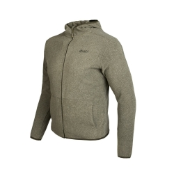 PINEA Unisex Fleece Hoodie RAMI Farbe OLIVE GRÜN