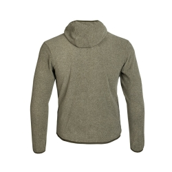 PINEA Unisex Fleece Hoodie RAMI Farbe OLIVE GRÜN  Größe XS