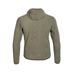 PINEA Unisex Fleece Hoodie RAMI Farbe OLIVE GRÜN  Größe XXL