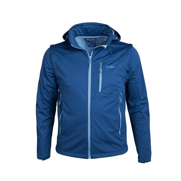 PINEA Herren Sommer Softshell Jacke KAI Farbe NAVY BLAU Größe 4XL