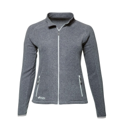 PINEA Damen Fleece Jacke VENLA Farbe HEATHER GREY