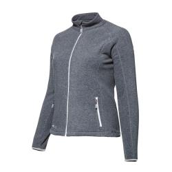 PINEA Damen Fleece Jacke VENLA Farbe HEATHER GREY Größe 38